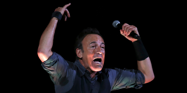 Fans hope Bruce Springsteen will play a Kiwi classic at Mt Smart Stadium this weekend. Photo/AP