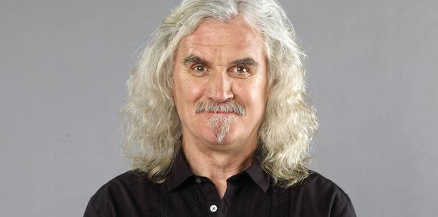 Billy Connolly was told he may have Parkinson's by a fan in a hotel foyer.