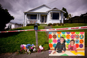 Bradley Livingstone, 9, and his sister Ellen, 6, lived and died in the family home on Kiwi St, Dunedin.  Photos / Otago Daily Times