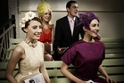Raceday looks styled by Melbourne hairdresser Caterina DiBiase for the Victoria Racing Club. Photo / Supplied