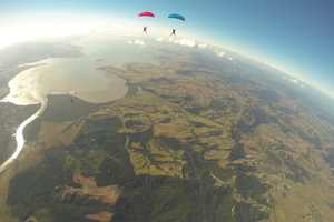 Photo / Skydive Auckland