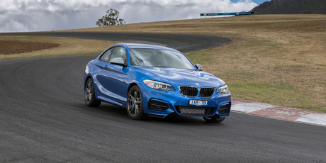 Matt Greenop attends the launch of the BMW 2-Series Coupe in Tasmania