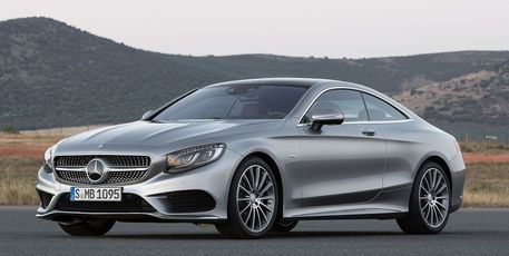 The long awaited Mercedes S-Class coupe in production form for Geneva debut