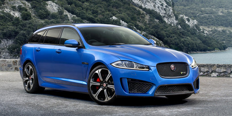 A Sportbrake variant of the Jaguar XFR-S has been revealed ahead of its Geneva debut