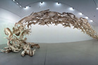 Cai Guo-Qiang's 'Head On 2006'.