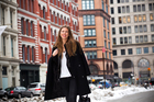 Fashion merchandise planner Annik Bunting on the streets near her East Village office. Photo / Babiche Martens.