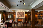 The lobby at The Marlton Hotel in Greenwich Village. Photo / Supplied