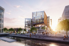 An artist's impression of the new Innovation Precinct which Precinct Properties plans to develop in the Wynyard Quarter.
