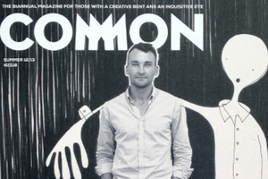Wellington's 'Common' magazine showcases creative work and processes.