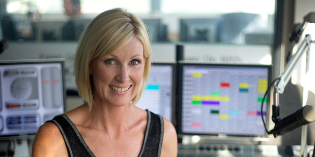 Rachel Smalley in her Newstalk ZB studio. Photo / Dean Purcell