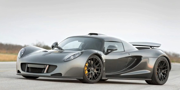 The Hennessey Venom GT has set a new record for the highest top speed for a road legal production car.