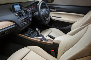 The interior of the all-new BMW 2 Series, that has just been launched in Australia.