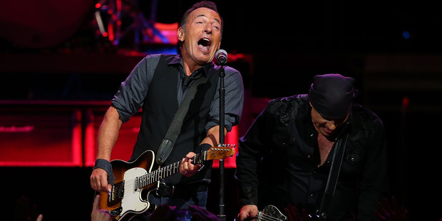 Bruce Springsteen and the E Street Band could try keeping it Kiwi witha bit of Mutton Birds during their Mt Smart concerts this weekend. Photo / Getty Images.