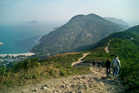 Hiking the Dragon's Back, with Shek O Bay in the distance. Photo / Creative Commons image by Flickr user Mat Booth