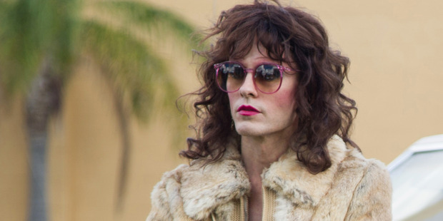 Leto as Rayon in a scene from Dallas Buyers Club.