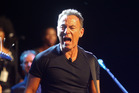 American performer Bruce Springsteen. Photo / AP