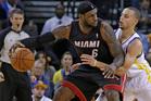 LeBron James. Photo / AP