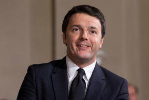 Matteo Renzi. Photo / AP