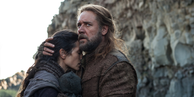 Jennifer Connelly, left, and Russell Crowe in a scene from Noah.