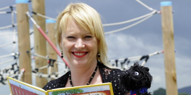 Tracey Rudduck-Gudsell started the fundraiser to get Hairy Maclary on Tauranga's waterfront.