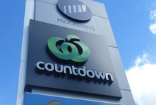 Progressive Enterprises Countdown supermarket sign