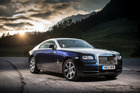 The Wraith (above, and below) is rather sporty model for Rolls Royce. Pictures / James Lipman