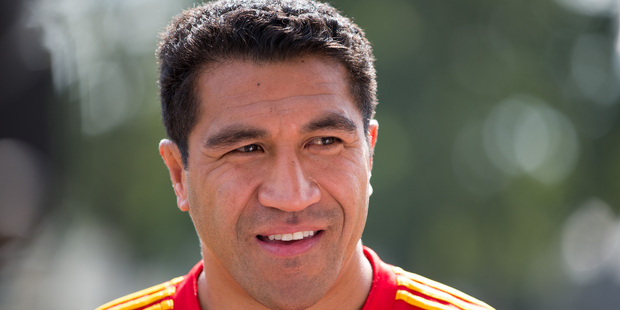 Mils Muliaina. Photo / Stephen Barker.