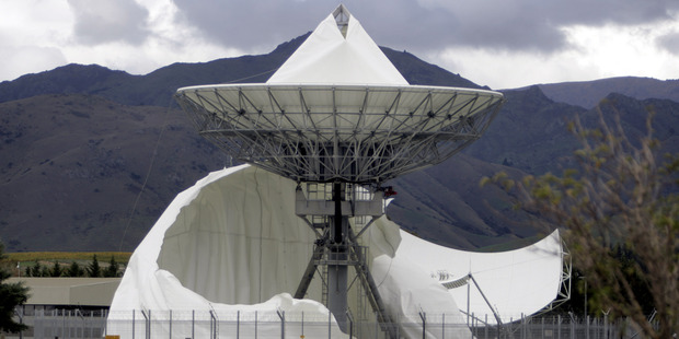 The government has given up trying to sue a Hokianga farmer for the costs of repairing a spy base dome damaged in a protest six years ago.