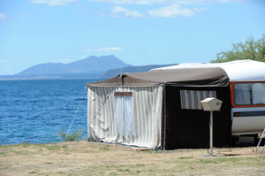 One way to get rid of debt is to sell non-essential luxuries like boats and caravans.