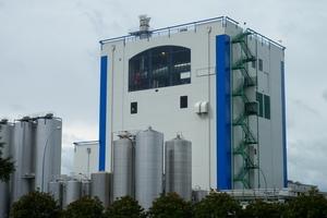 Fonterra's new Waitoa plant which produces Anchor ultra heat treated milk. Photo / APN
