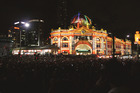 The White Night Festival is an all night event in Melbourne, Australia. Photo / Rachel Bache
