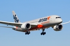 Jetstar's chief executive for Australia and New Zealand, David Hall, said he could not comment on reports of job losses or the financial plight of Qantas.