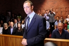 Oscar Pistorius is accused of murdering his girlfriend Reeva Steenkamp. Photo / AP