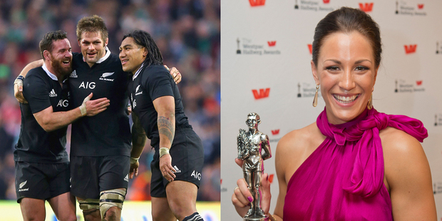 The All Blacks (team of the year) and Sophie Pascoe (Sportsperson with a disability) have been nominated for Laureus Sports Awards. Photo / Getty-Greg Bowker