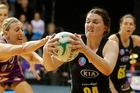 MAGIC'S BACK: Ellen Halpenny and her Magic teammates begin the new season against Mainland Tactix in Christchurch today.PHOTO/FILE