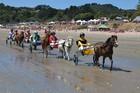 Head to Waiheke for the fun of the Onetangi Beach Races.