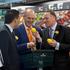 Prime Minister John Key Visits Te Puke. From left: John Morrison, Simon Bridges, Tony Ryall, and John Key.