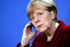 Angela Merkel has warned Germans not to fall for far-right rhetoric, amid concern about the growing number of people flocking to anti-Islam demonstrations in the country. Photo / AFP