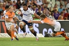 Jerome Kaino, playing in his 100th match for the Blues, was at his rampaging best against the Cheetahs. Photo: GALLO IMAGES