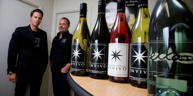 Invivo, founded by Tim Lightbourne (left) and Rob Cameron, expects turnover this year of more than $5 million, with 75 per cent coming from export markets. Photo / Dean Purcell