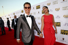 Actor Matthew McConaughey brings his model wife Camila Alves as his plus-one. Photo / Getty