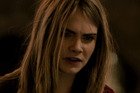 Cara Delevingne in a scene from the movie The Face Of An Angel.