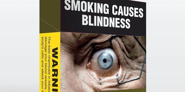 Plain packaged cigarettes in Australia. Photo / supplied