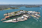Sydney Harbour's Cockatoo Island is a unique location to 'glamp' in luxury tents. Photo / Getty Images