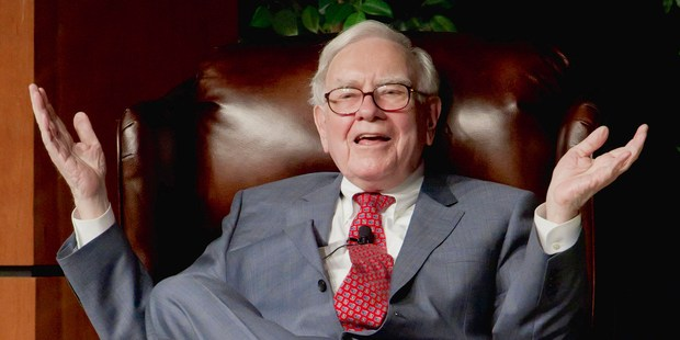 Warren Buffett took over Berkshire Hathaway 50 years ago. Photo / AP