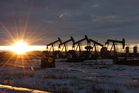 Crude oil is expected to stay between US$50 and $60 a barrel for at least the next few years. Photo / AP.