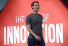 The Americans are overshadowing the Europeans at the Mobile World Congress in Barcelona. Hundreds of people queued for hours to attend Zuckerberg's session on Monday. Photo / AP