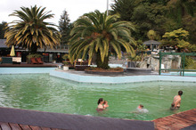 DeBretts' thermal pools in Taupo. Photo / Supplied