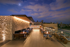 The rooftop bar at the InterContinental Sydney. Photo / Supplied