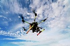 EYE IN SKY: The drone was believed to have a camera on board. PHOTO/THINKSTOCK